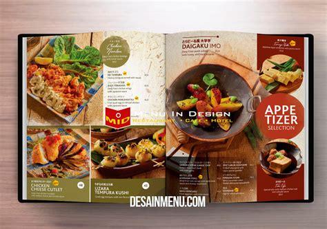 desain daftar menu makanan corel desain daftar menu