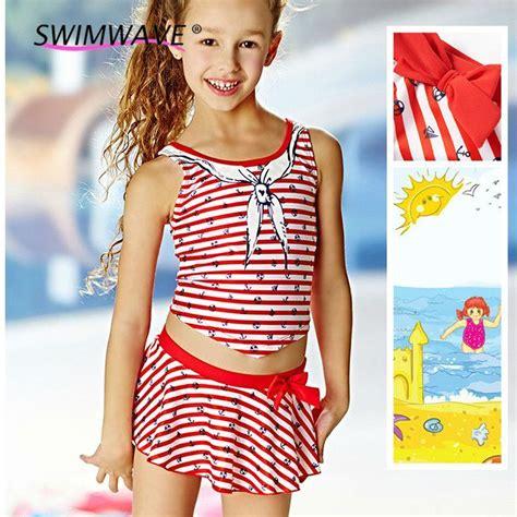 kids two piece swimwear summer baby girls swimwear kids children two piece