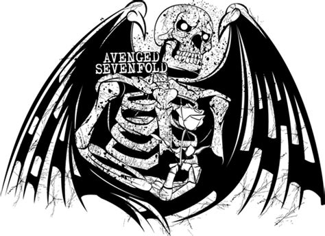 avenged sevenfold logo  foto nano pertapan