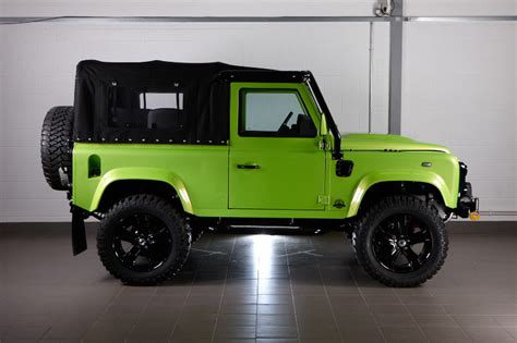 land rover defender convertible defender thor 90 extreme soft top convertible 2012my