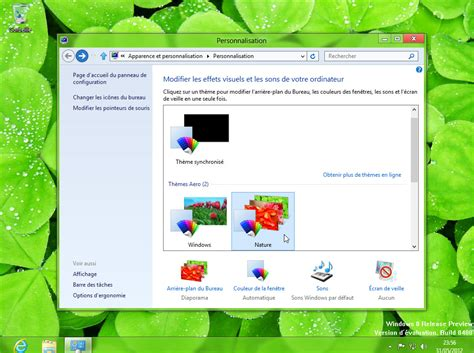 theme editor windows 8 windows 8 nouveaut 233 s en images de la release preview