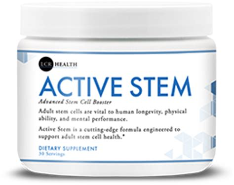 active h supplement products lcr health