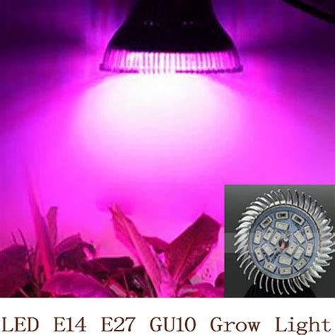 led light bulb spectrum spectrum led grow light 18w e14 e27 gu10 spotlight