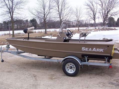 seaark tiller boats sea ark 1660 mv boats for sale