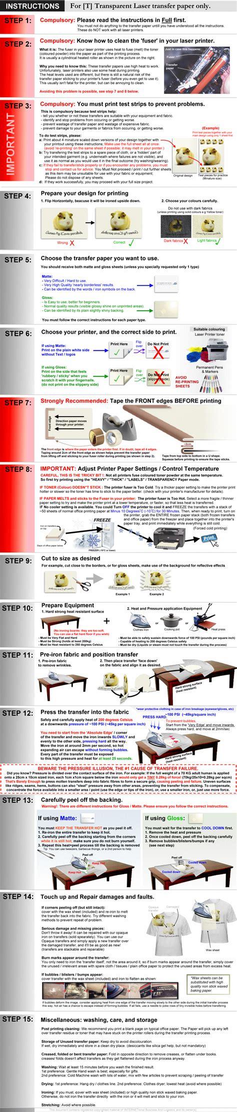 printable iron on transfer paper instructions 40 laser printer t blank t shirt iron on heat transfer
