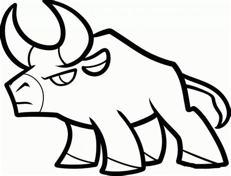 how to cool a easy and cool drawings how to draw a bull easy drawings drawing sketch