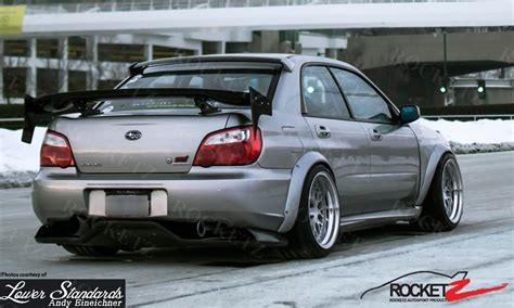 widebody wrx 2004 05 subaru impreza wrx sti karlton style wide body