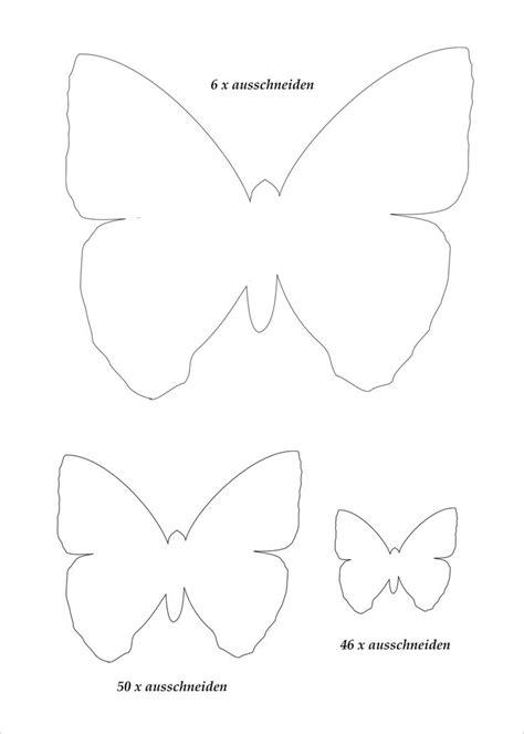 Vorlagen Schmetterling by Die Besten 17 Ideen Zu Schmetterling Vorlage Auf