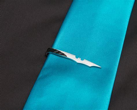 bat tie clip