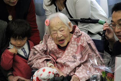 Did Someone Die In House by World S Oldest Person A Japanese Dies At 117 La