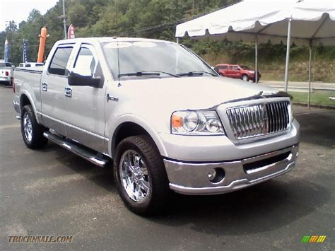 2006 lincoln lt supercrew 4x4 in silver metallic