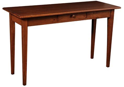Canterbury sofa table amish furniture designed