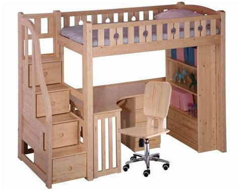 bunk bed with desk plans best 25 loft bed desk ideas on bunk bed with