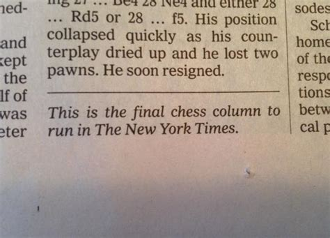 the new york times publishes since 1855 the new york times has published a chess