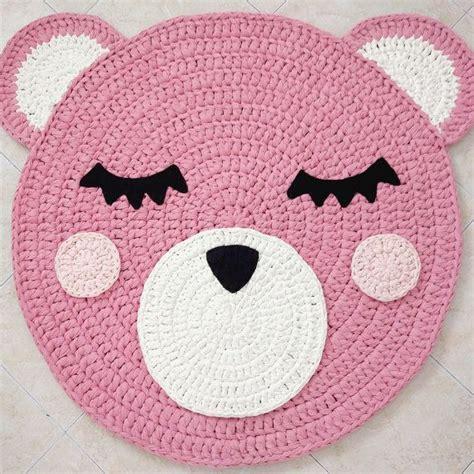 alfombra oso crochet oso crochet alfombra alfombra de oso alfombra hecha a por