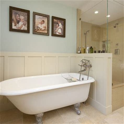 bathroom with separate shower and bathtub clawfoot tub separate shower design ideas pictures