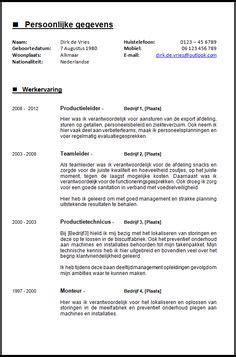 Solliciteren Met Een Cv Voorbeeld Onderwijsassistent open sollicitatiebrief algemeen solliciteren