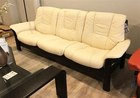low back sectional sofa stressless reclining sofa stressless wave sectional w