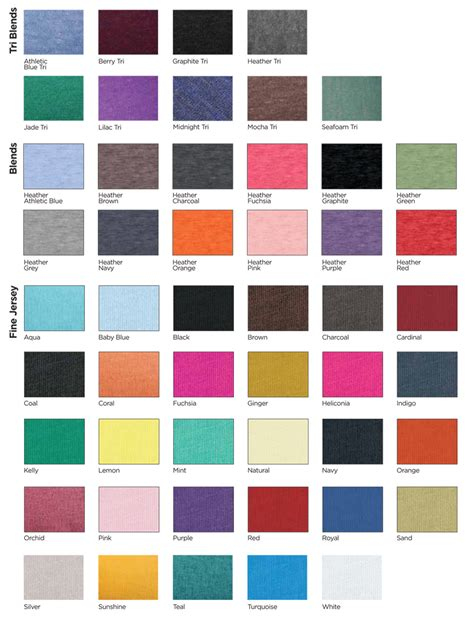 color swatches fabric swatches shirt outfitters