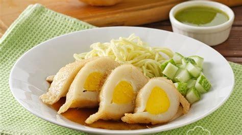 membuat pempek telur  enak  lezat khas palembang