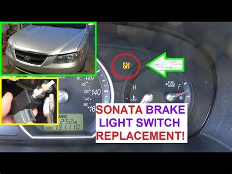 What Does It When Your Brake Light Is On by How To Replace The Brake Light Switch On Hyundai Sonata