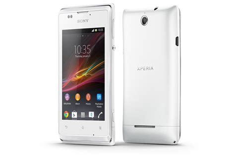 e mobile phones xperia e mobile android sony mobile
