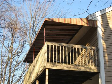 Portable Awnings For Decks by 1000 Ideas About Deck Canopy On Patio Shade