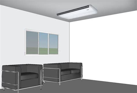 ductless air conditioner ceiling mount