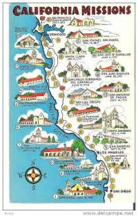 map of california missions printable social studies mrs leclair s fourth grade