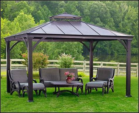 gazebo steel gazebo design astounding steel top gazebo hardtop gazebo