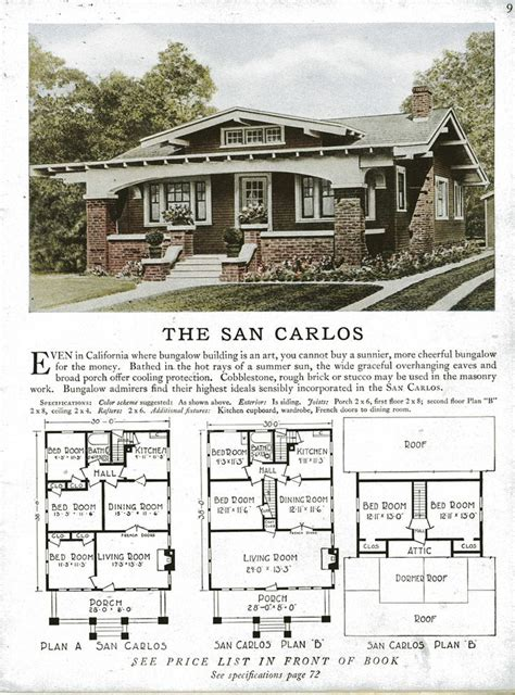retro house designs vintage craftsman style home plans