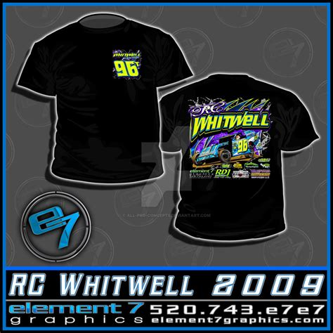 Tshirt Rc Concept by Rc Whitwell T Shirt By All Pro Concepts On Deviantart