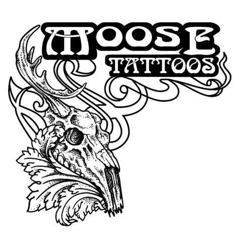 tribal moose tattoo tribal moose