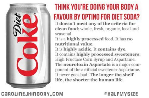 14 reasons not to drink diet soda fellowship of the minds