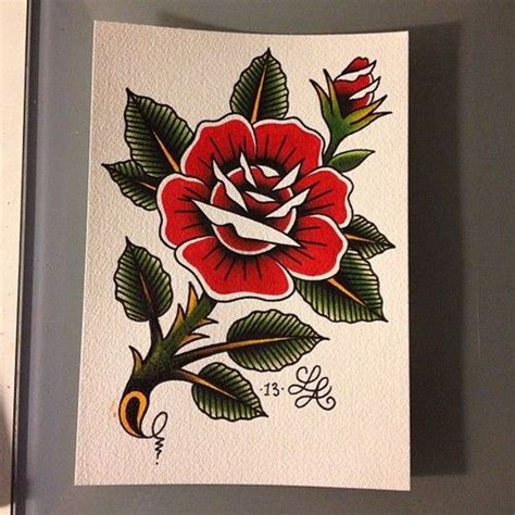 traditional rose tattoo flash 81 best images about flash on