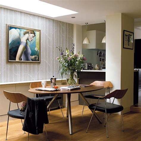 dining room open plan victorian terrace house