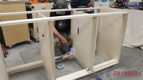 how to build cabinet drawers how to build a base cabinet with drawers fixthisbuildthat