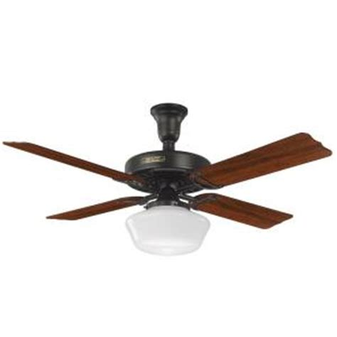 Ceiling Fan Globes Home Depot by Hotel Original 52 In Indoor Satin Black Ceiling