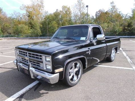 chevy short bed for sale for sale 1985 chevrolet silverado short bed lowered