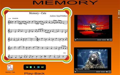al cats memory m 218 sica en el aula partitura memory cats