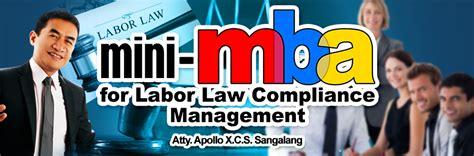 Telecoms Academy Mini Mba by Mini Mba For Laborlaw Compliance Ariva Academy