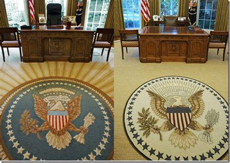 oval office decor through the years cote de the oval office before after