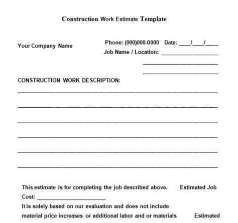 the top 6 free construction estimate templates capterra blog the top 6 free construction estimate templates capterra blog