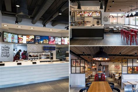 kfc store layout design has kfc turned posh uk stores to get makeover with open