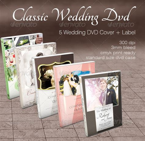 Wedding Dvd by Wedding Cd Dvd Cover Free Psd Brochure Template