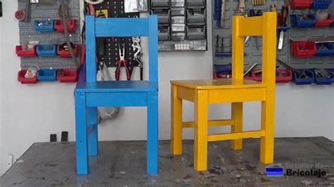 como hacer sillas de madera c 243 mo hacer sillas de madera para ni 241 os con tornillos 2 2