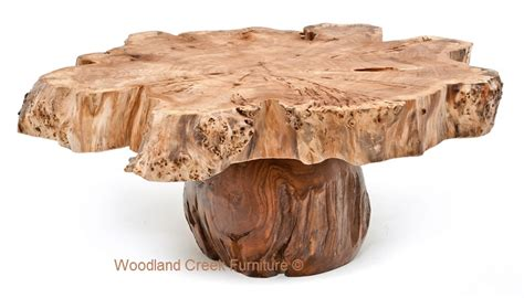 burl wood coffee tables burl wood coffee table slab cocktail thick