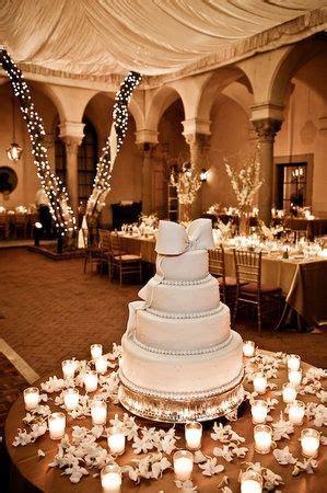 Photo via in 2019   Our Wedding Cake   Wedding cake table