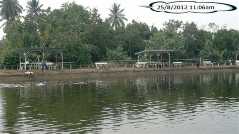 kolam memancing  rekreasi balok kolam air masin
