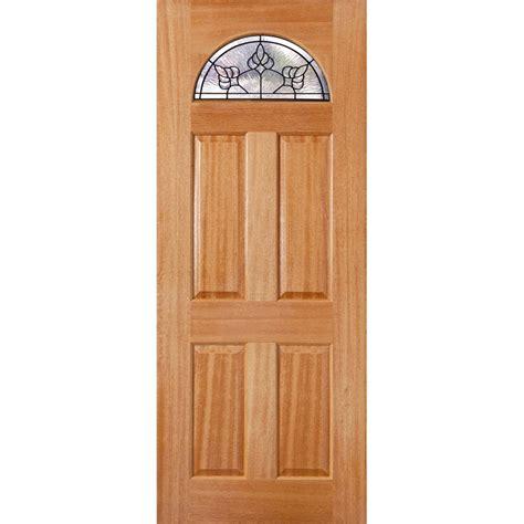 Door Carolina by Woodcraft Doors 2040 X 820 X 40mm Black Carolina Entrance Door